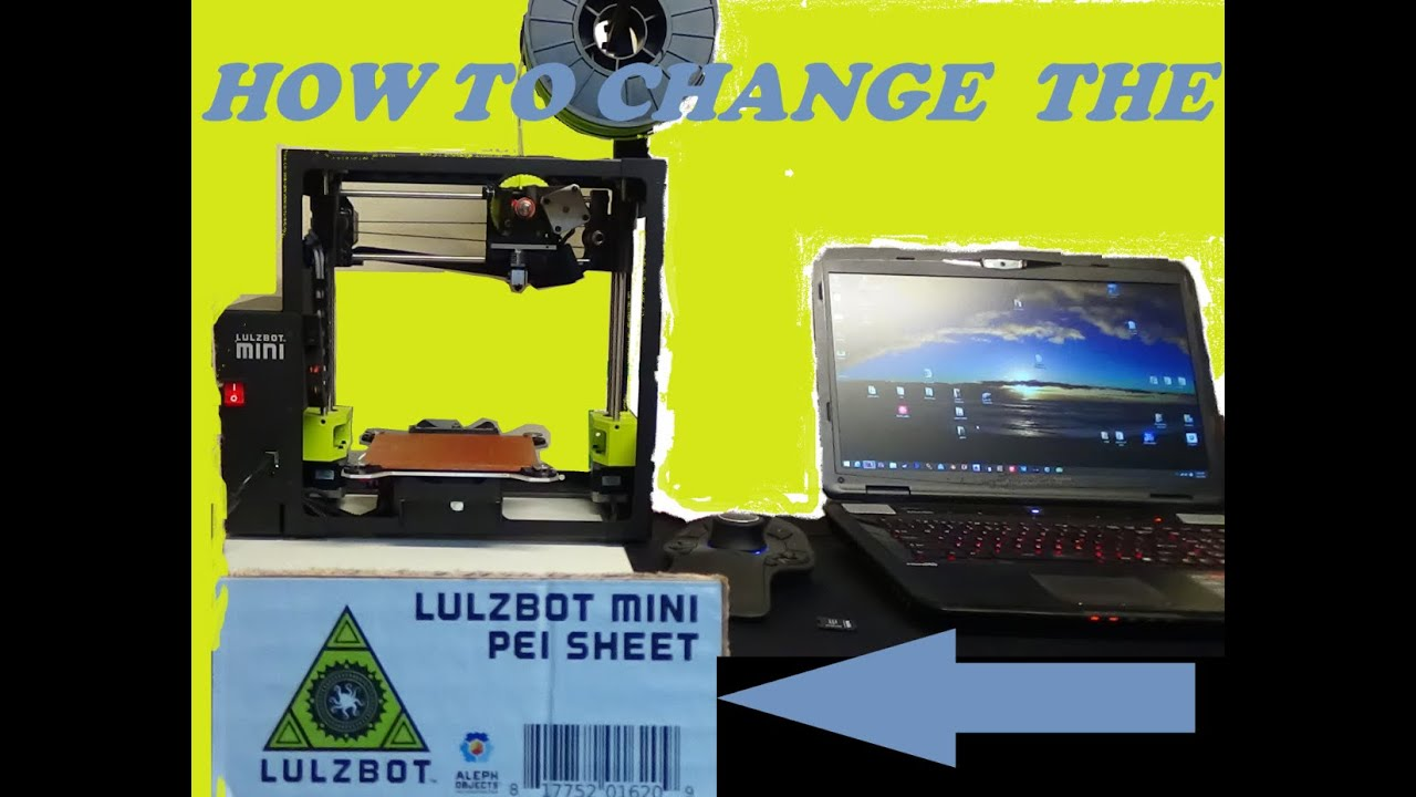 AlephObject LulzBot Mini Heat Bed Kit
