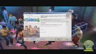 Como baixar e instalar The Sims 4 completo em português 2017 (PC FRACO)