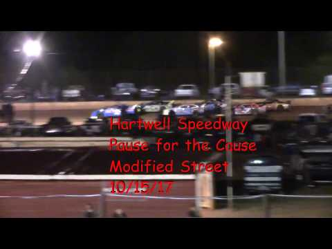 Hartwell Speedway PFC Modified Street Feature Race 10/14/17