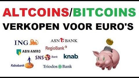BITCOIN UITBETALEN IN EURO