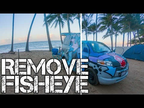 Remove Fisheye from GoPro Photos and Video