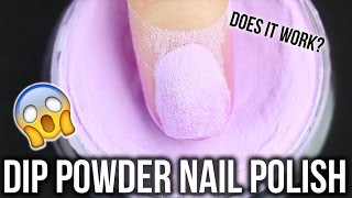 Dip Powder Nail Polish Tutorial || KELLI MARISSA