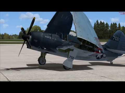 Aeroplane Heaven SB2C Helldiver first flight