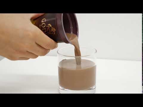 GODIVA ミルクチョコレートをグラスに注いでみた