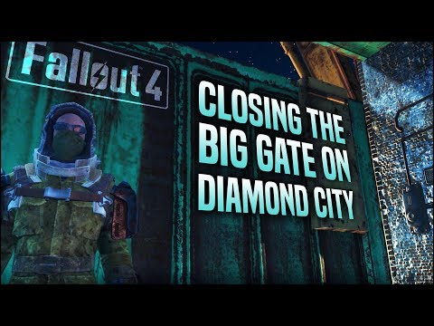 Can We Close the Gate on Diamond City in Fallout 4?