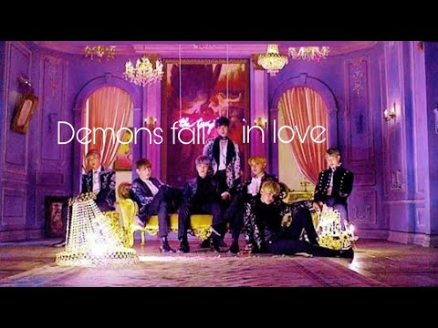 Demons fall in love with mystery girl [BTS] part-3