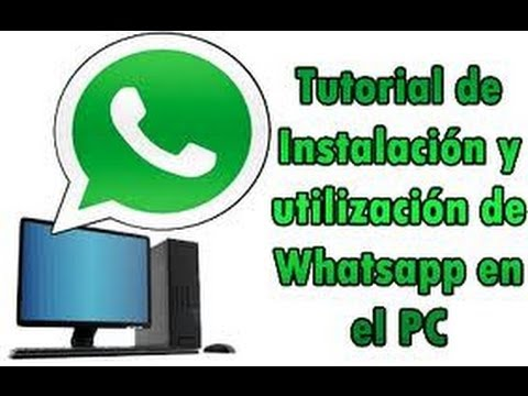 Como Descargar Whatsapp Para Windows 7 100 Seguro Youtube