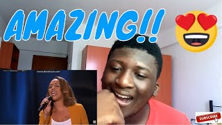"Glennis Grace: Performs ""Nothing Compares To You"" By Prince REACTION"