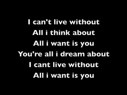 all i want - staind (lyrics)