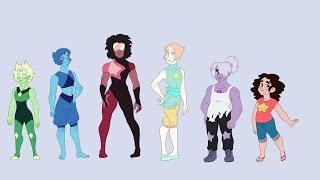 Steven Universe: The Crystal MEN (Genderbend Speedpaint)