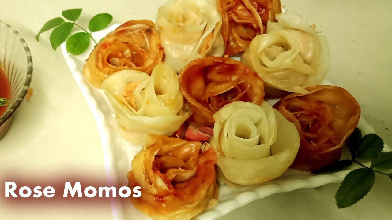 Rose Momos Recipe | #rosemomos Must Try #Momos Recipe