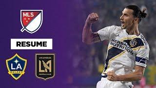 MLS : D'un triplé fou, Ibrahimovic remporte le derby de Los Angeles à lui tout seul