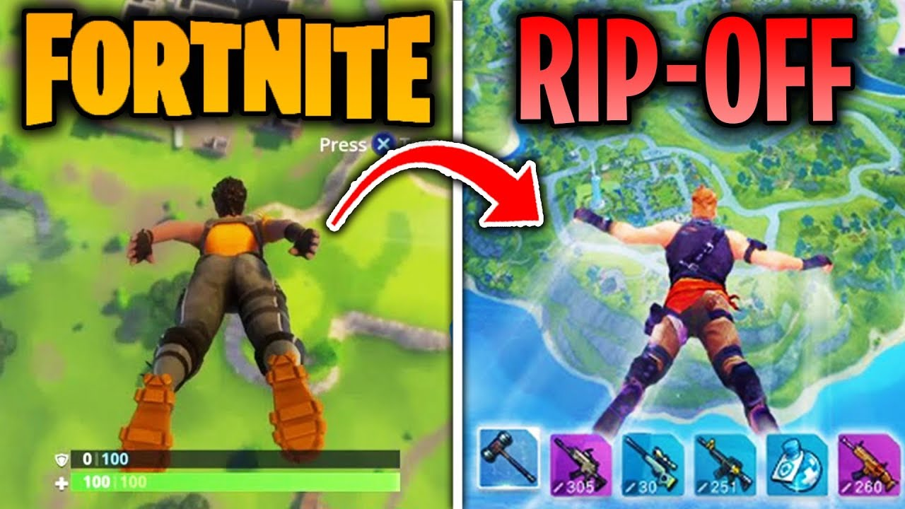 Top 5 Games That COPIED FORTNITE BATTLE ROYALE! (Fortcraft ...