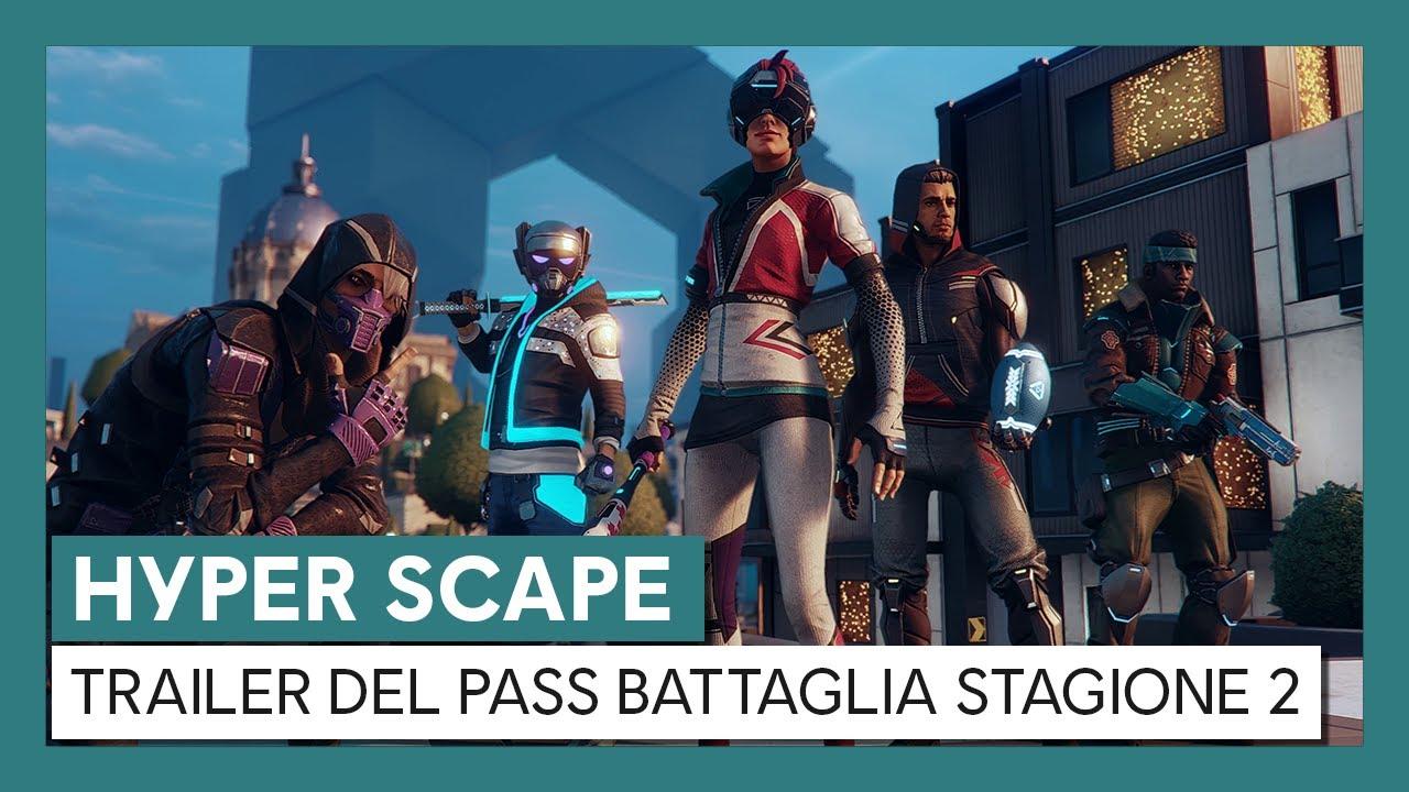 Hyper Scape: Trailer del Pass Battaglia Stagione 2
