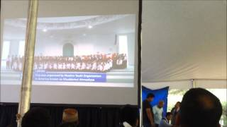 MKA IJTEMA 2015 USA Khuddam-ul Ahmadiyya Visiting Hazoor(ABA) in UK
