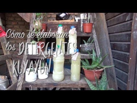 Cómo se hace el detergente ecológico Kuyayün