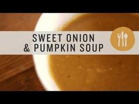 Superfoods - Sweet Onion & Pumpkin Soup