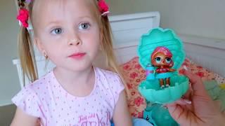Кукла ЛОЛ ПОД ДВЕРЬЮ. Doll LOL Surpise Кукла Катя и Эльвира. лол куклы распаковка про куклы