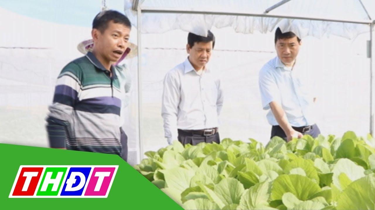 Lãnh đạo UBND tỉnh Đồng Tháp làm việc tại huyện Cao Lãnh | THDT