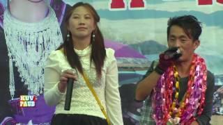 Khab Lis 2014 @ Puchifa, Thailand singing Poj Nrauj Ntxim Hlub