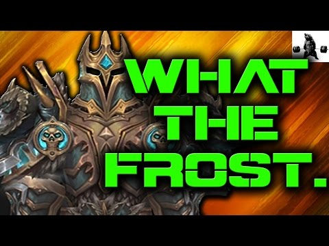 OH MYYYYYY. What the Frost is This Damage! | WoW Legion