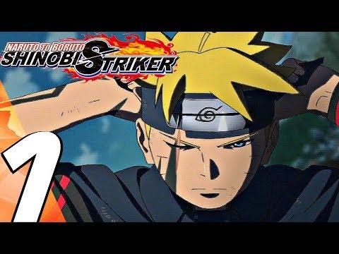 Naruto to Boruto Shinobi Striker - Gameplay Walkthrough Part 1 - Story Mode (Full Game) PS4 PRO