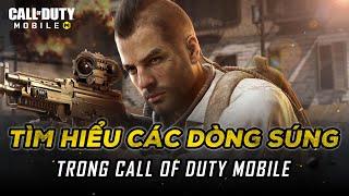 Tìm hiểu các dòng súng trong Call of Duty Mobile VN