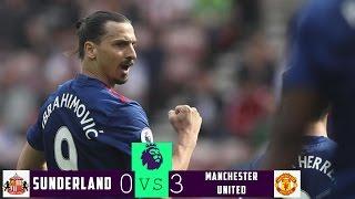 ►Sunderland Vs Manchester United◄- 0:3 - ALL GOALS & EXTENDED HIGHLIGHTS (09.04.2017) HD