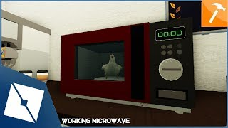 ROBLOX Tutorial | Working Microwave with Chicken!