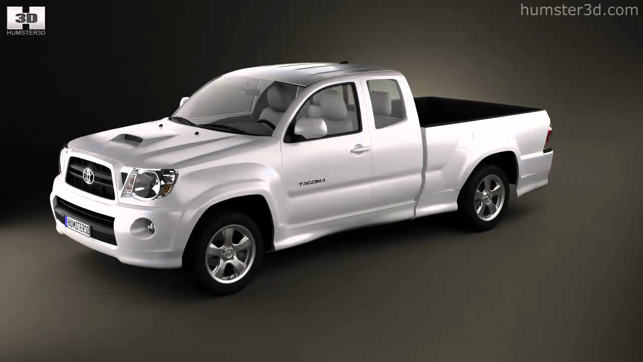 Toyota Tacoma X Runner >> Toyota Tacoma XRunner 2011 by 3D model store Humster3D.com - YouTube