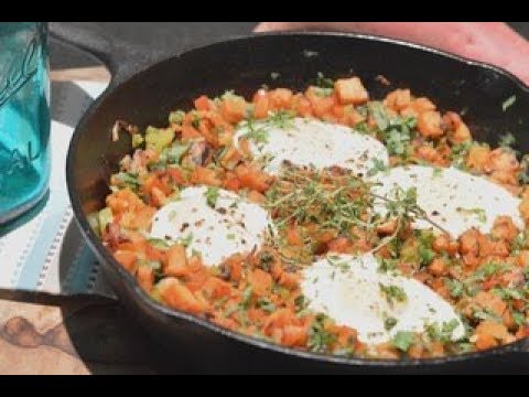 How to make Sweet Potato Hash in a Cast-Iron Skillet