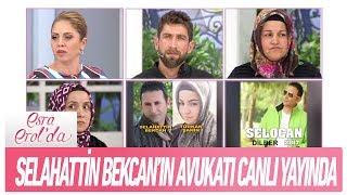 Selahattin Bekcan'ın Avukatı Canlı Yayında - Esra Erol'da 7 Şubat 2019