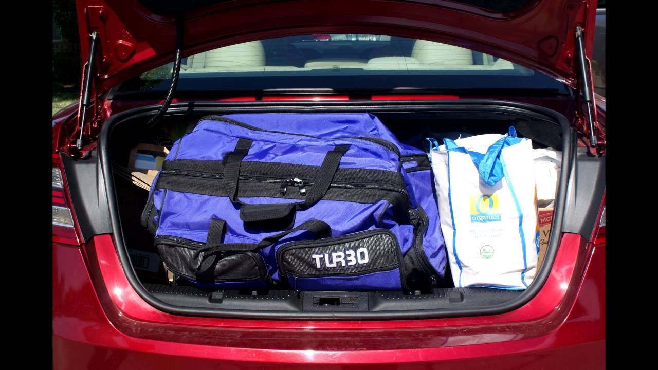 Ford Fusion Trunk Space >> Trunk Space - YouTube