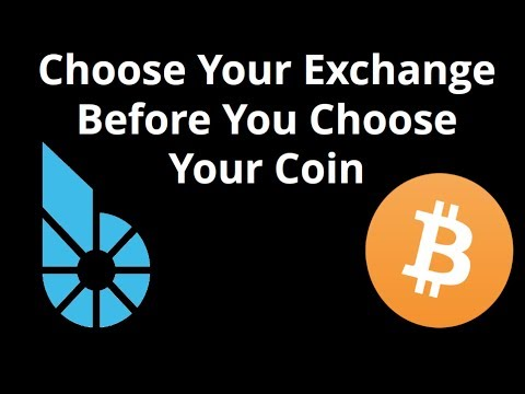 Choose Your Exchange Before You Chose Your Coin - BTS DEX is Best!