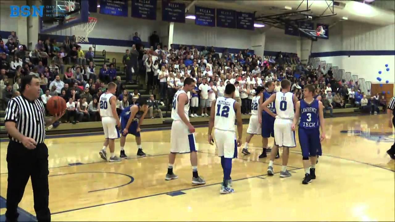 Bethel College Basketball Bethel Vs Lawrence Tech Youtube