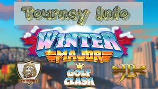 Golf Clash, Winter Major - Tourney **INFO**