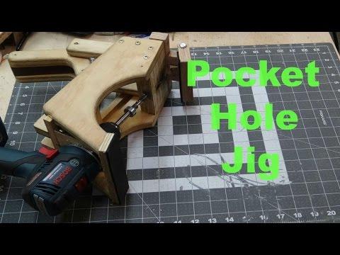 How to Make a Homemade Pocket Hole Jig!