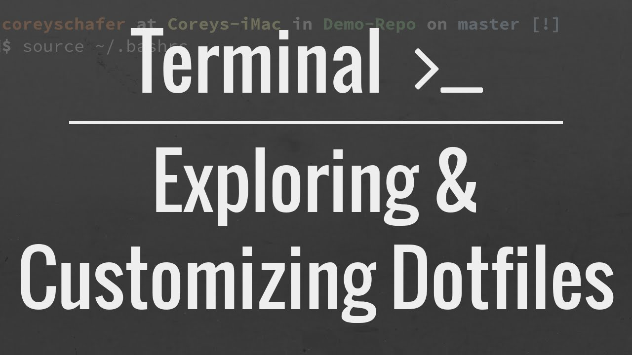 Customizing Your Terminal: How To Use and Modify Dotfiles