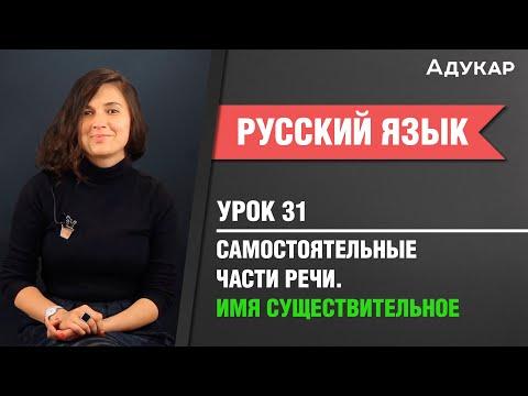 Самостоятельные части речи. Имя существительное| Русский язык