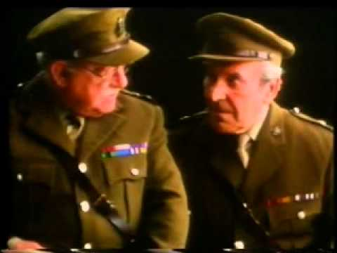 "Cadbury's Wispa - ""Dad's Army"" Arthur Lowe and John Le Mesurier Advert"