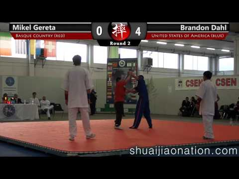 2012 ESJU Chang Dong Sheng Memorial, Italy - Brandon Dahl vs Mikel Gereta