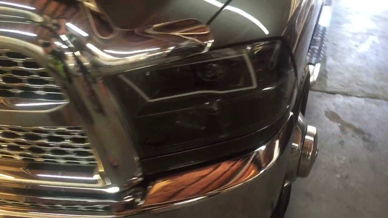 2015 Dodge Ram Custom Headlight Demo by 910 MotorSports ...