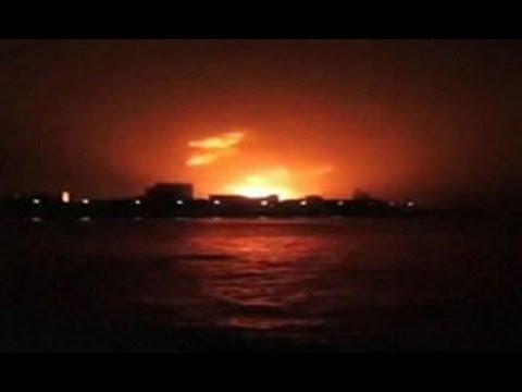 Indian submarine explodes in Mumbai