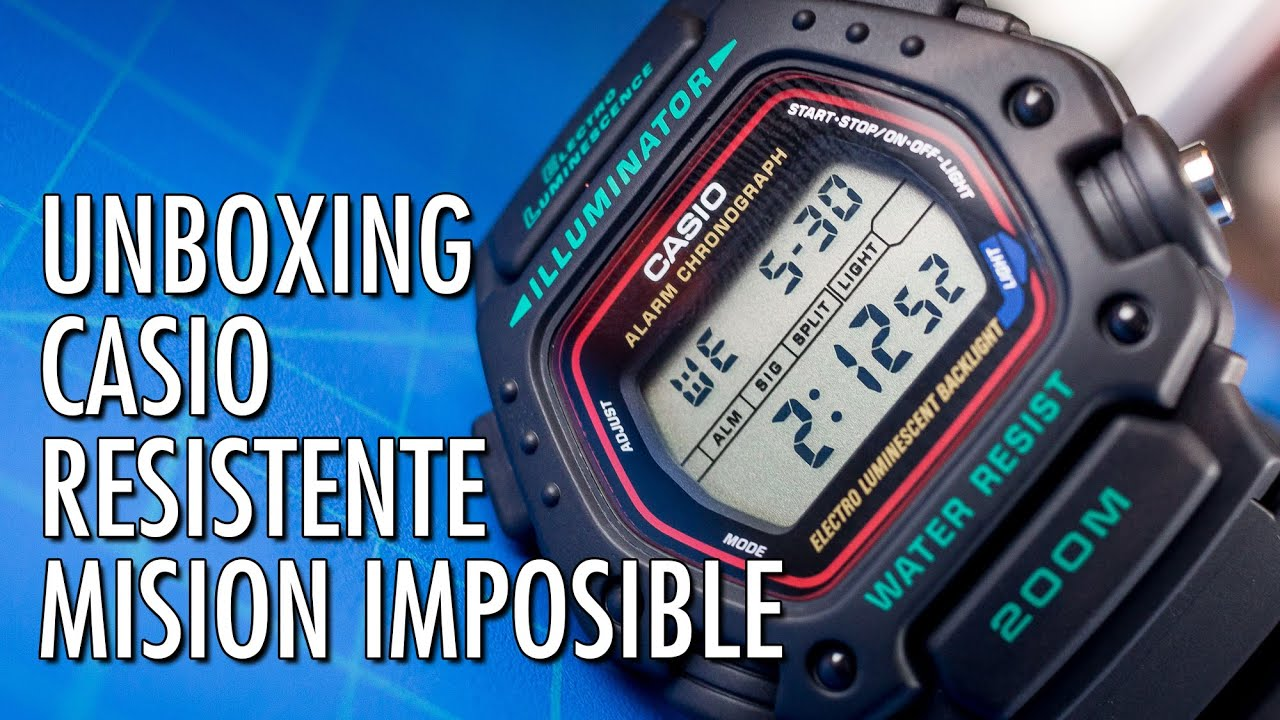ce4a388bce2b Unboxing Casio DW-290