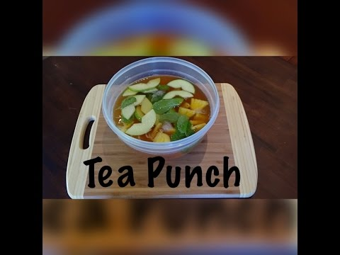Tea Punch for Tea Party DIY