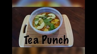 Tea Punch For Tea Party Diy