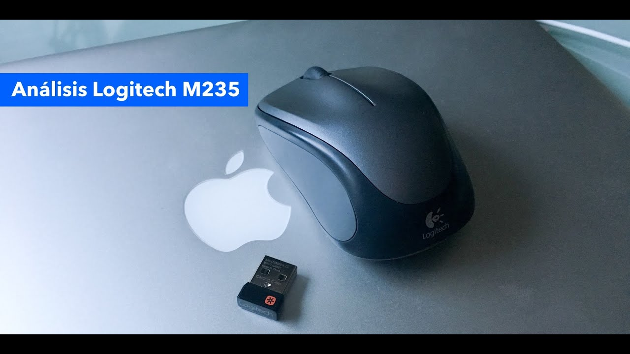 8acdf03bd60 Unboxing y análisis Logitech M235 Bluetooth - YouTube