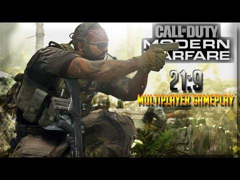 🕹Call Of Duty Modern Warfare🕹 Multiplayer Gameplay 21:9 Ultra