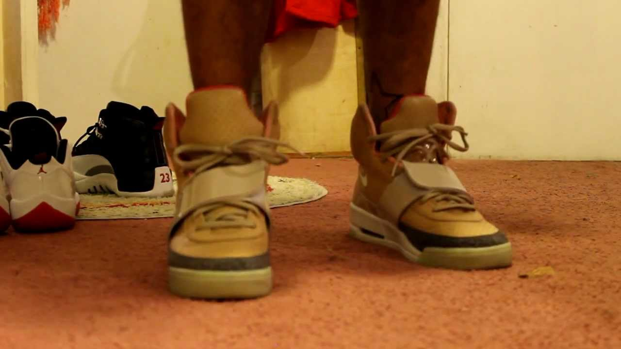 4710301da2684 Air Yeezy Tan