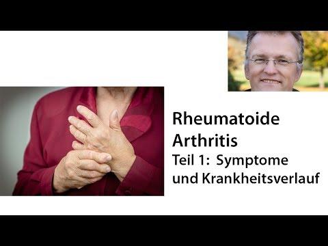 Rheumatoide Arthritis - Teil 1: Symptome Und Krankheitsverlauf